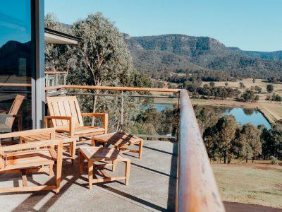 Elysia Wellness Retreat balcony views
